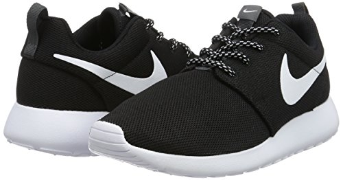 Negro Running Zapatillas black negro dark Nike Grey One W white Roshe De Mujer Para wx8F1qZ8