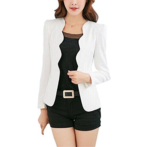 Nerefy Women Slim Office Business Blazer Suit Casual Jacket Female Coat Outwear by Nerefy