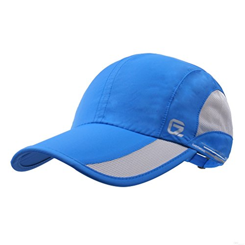 (GADIEMKENSD Quick Dry Sports Hat Lightweight Breathable Soft Outdoor Run Cap (Classic Upgrade,)