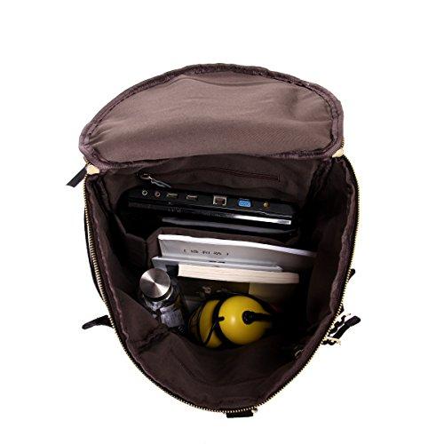 Leathario Herren Multifunktion Ledertaschen Sporttaschen Reisetaschen Weekender Handgepäck Rucksack Schultertasche Reisegepäck Reisetaschen Retro
