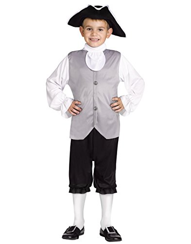 Colonial Child Shoes (Colonial Boy Child Costume - Medium)