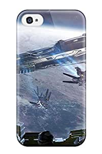 Awesome Spaceship Flip Case With Fashion Design For Iphone 4/4s by icecream design