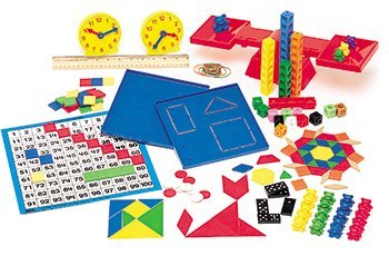 Complete Homeschool Kit for Saxon Math, Manipulatives for Grades K-3 in Storage Container