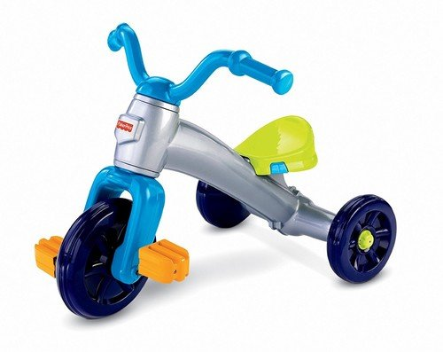 Fisher-Price Grow With Me Trike Plastic Tricycle