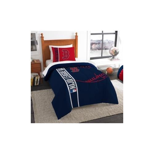 (The Northwest Co mpany MLB Boston Red Sox Twin 2-piece Comforter Set)