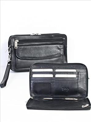 Scully Leather Man Bag Black: Handbags: Amazon.com