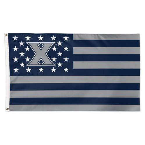 (Wincraft Xavier Musketeers American Flag 3 x 5 Foot - NCAA)