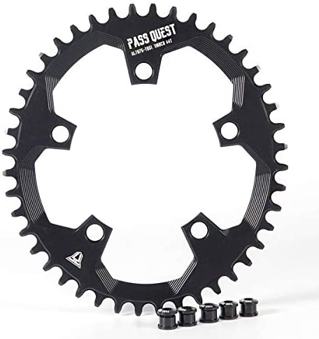 PASS QUEST 110BCD Oval Road Bike Narrow Wide Chainring 42T-52T Bike Chainwheel for sram 3550 APEX RED