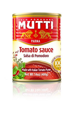 Mutti Tomato Sauce, 14 oz. Can, 12-Pack
