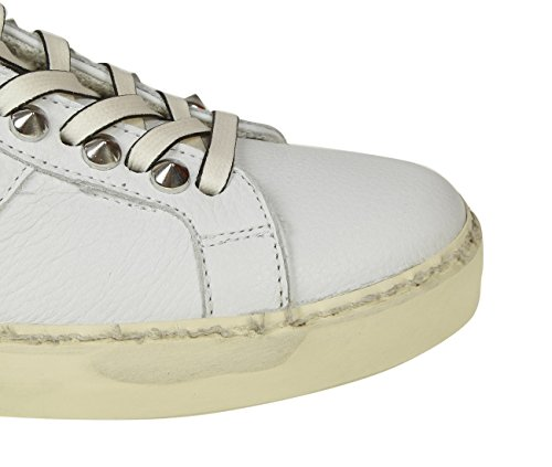 Sneakers White Women's Crown Leather WICONIC15 Leather 8B4xnqHA