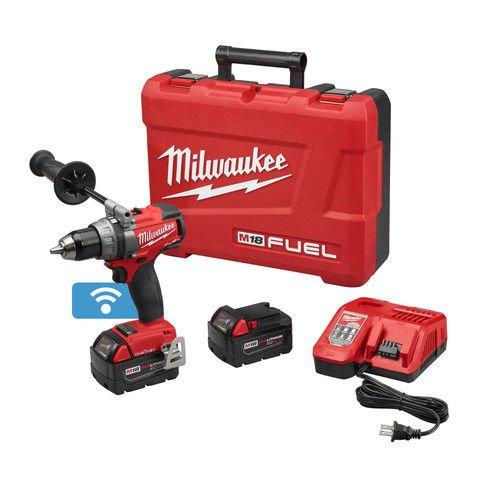 MILWAUKEE 2705-22 M18 Fuel 1/2 Inch Drill/Driver Kit