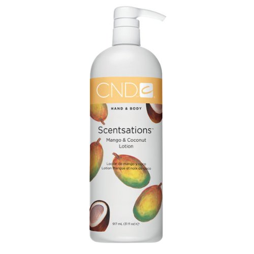 Mango Coconut Body Lotion - CND Nail Lotion, Mango and Coconut, 31 Fl Oz