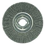 12'' Diameter-2'' Arbor Hole - Crimped Steel Wire Straight Wheel