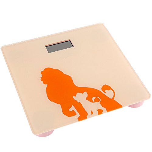 Digital Body Weight Scale with Tempered Glass by Viyaabang