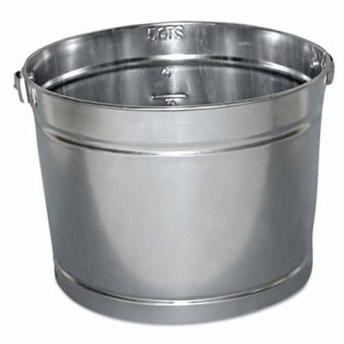 Magnolia Brush 5 5-Quart Metal Galvanized Paint Pail (12 per (5 Quart Galvanized Metal Bucket)