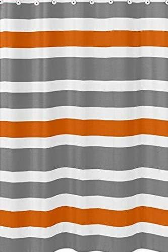 Amazon Sweet Jojo Designs Gray Orange And White Kids Bathroom