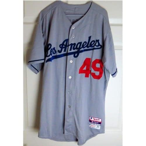 separation shoes 75a97 09355 30%OFF Lorenzo Bundy Team Issue Jersey Los Angeles Dodgers ...