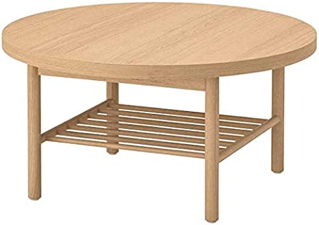 Amazon Com Ikea Listerby Coffee Table White Stained Oak 804 080 81 Kitchen Dining