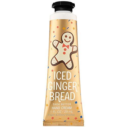 - Bath and Body Works ICED GINGERBREAD Shea Butter Hand Cream 1.0 Fluid Ounce (2018 Edition)