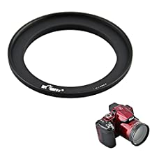 Filter Adapter Kiwifotos Lens Ring Adapter for Nikon Coolpix P510 P520 P530 Fit for any 62mm Threaded Filter or 62mm Lens Cap