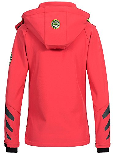 Donna Geographical Giacca Geographical Norway Corallo Norway wx65fqOnS