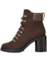 Amazon Brand - find. Chunky Hiker, Women's Ankle boots