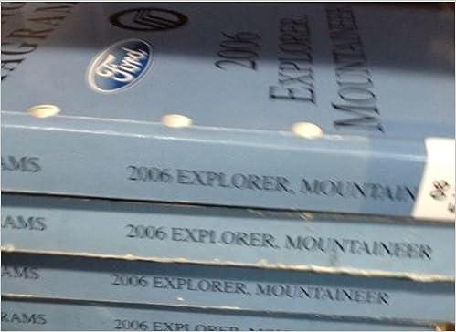 2006 Ford Explorer, Mercury Mountaineer Wiring Diagrams Manual: Ford O Ford Explorer Wiring Diagram on