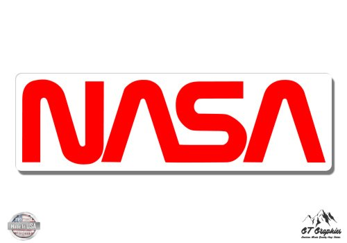 NASA Logo Classic Red - 5