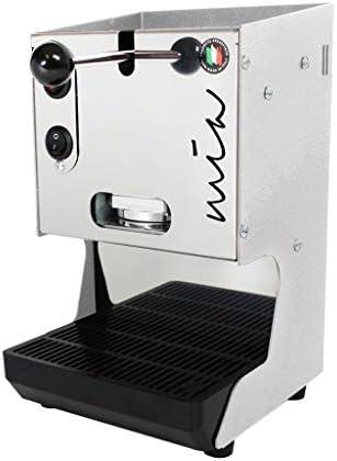aroma 9790638 Mia Macchina da Caffe Cialde 44mm Bianco