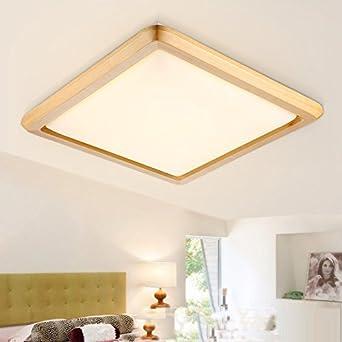 Led-deckenleuchte Led Chinesische Holz Eisen Acryl Led Lampe Deckenleuchten Led-licht Deckenleuchte Für Foyer Schlafzimmer Esszimmer