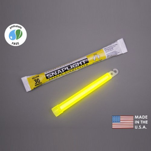 (10 Pack) Cyalume Light sticks 9-08010 - 6 in. SnapLight - Yellow - Hi-Intensity - 30 Minutes - Industrial Grade, Home Improvement Tool Cyalume Technologies