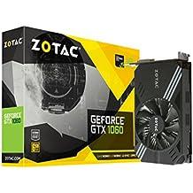 ZOTAC GeForce GTX 1060 Mini, ZT-P10600A-10L, 6GB GDDR5 Super Compact VR Ready Gaming Graphics Card