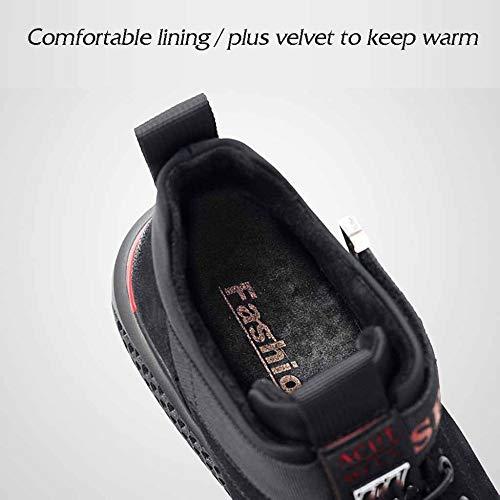 Viaggio Di Uomo Velluto Moda Outdoor Da Casual Più Ammortizzatore Black Scarpe Inverno Cotone Sportivo Caldo 4qZ5gwq