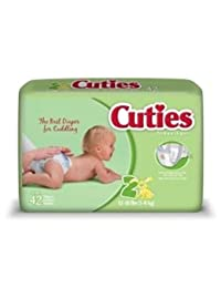 First Quality Baby Diaper Cuties Tab Closure Size 2 Disposable Heavy Absorbency (#CR2001, Sold Per Case) BOBEBE Online Baby Store From New York to Miami and Los Angeles