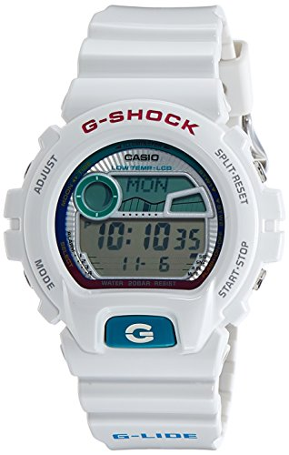 Mens White G Shock G Lide Phase