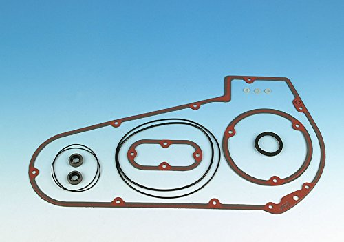 (James Gaskets Primary Cover & Inspection Cover Only Gasket Kit for Harley David - One)