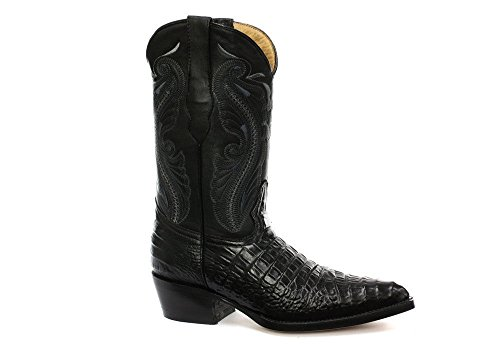 Black Women's Leather in Indiana Cowboy and Brown Western Boots Black Grinders vq7pdRgnq