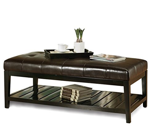 Wondrous Abbyson Living Winz Bicast Tufted Leather Coffee Table Bralicious Painted Fabric Chair Ideas Braliciousco