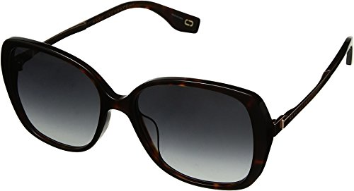 Marc Jacobs Womens Marc 304/S Dark Havana One Size Marc By Marc Jacobs Uv Protection Sunglasses
