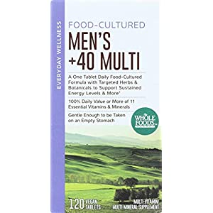 Whole Foods Market, Food-Cultured Men's +40 Multi, 120 ct