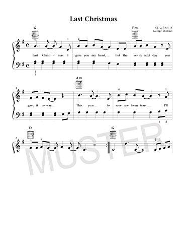 Keyboard Weihnachtslieder Anfänger.Merry Christmas Für Klavier Keyboard Oder Gitarre Die 45