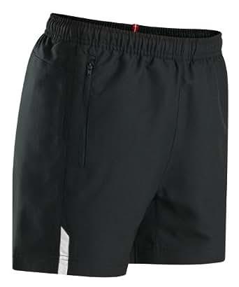 Women's Xara Naples Coaches Short, Black/White - Adult Small