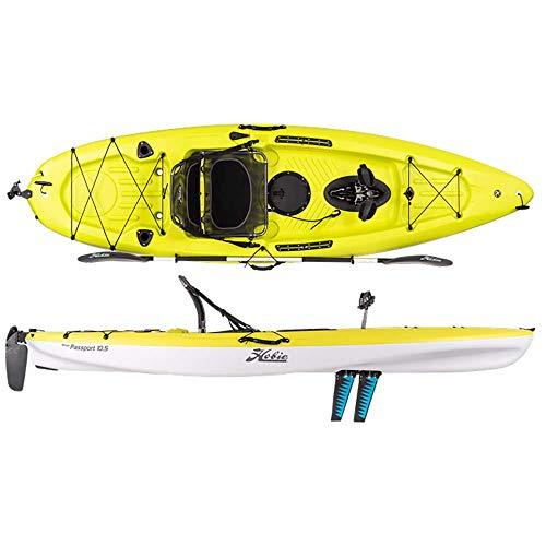 Hobie Mirage Passport 10.5' Pedal Fishing Kayak Seagrass Green (Hobie Fishing Kayak)