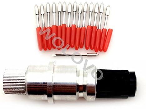 Graphtec CB09U Silhouette Cameo CraftROBO cortadores de corte plotter Cuchillas de soporte + 10 cuchillas: Amazon.es: Electrónica