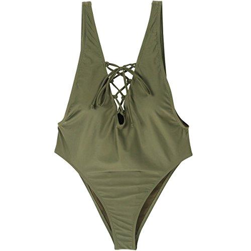 WAZY Bikini para Mujer Sets Sexy Traje de baño de una Pieza ...