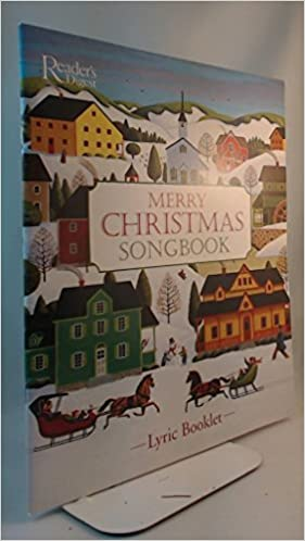 merry christmas songbook lyric booklet reader s digest amazon com books