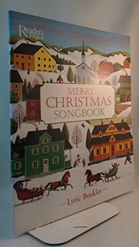 Merry Christmas Songbook Lyric Booklet