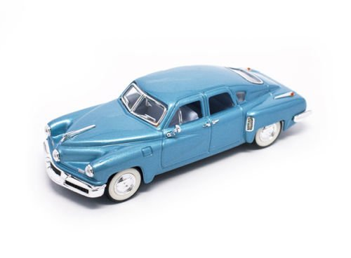 Road Signature 43201-L.BL 1948 Tucker Light Blue Signature Series 1/43 Diecast Model (Signature Diecast Cars)
