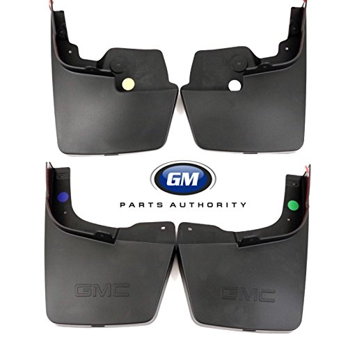 New Gm Molded Splash - General Motors 2015-2018 GMC Canyon Molded Splash Guard Package 22958431 23278170 Black OEM GM