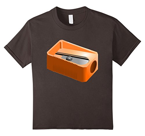 [Kids Pencil Sharpener Funny Office School Supplies Costume Shirt 6 Asphalt] (Group Of 6 Costume Ideas)